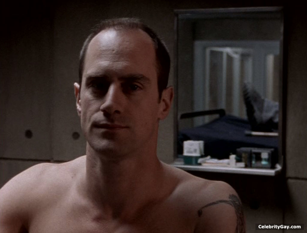 Christopher Meloni Goes Shirtless in His Kilt While in