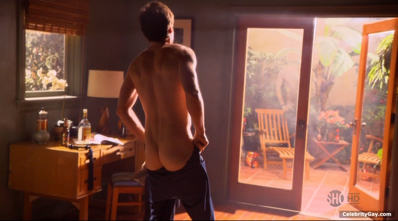 images of david duchovny nude