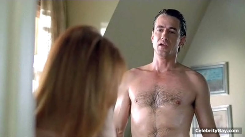 naked Dermot mulroney