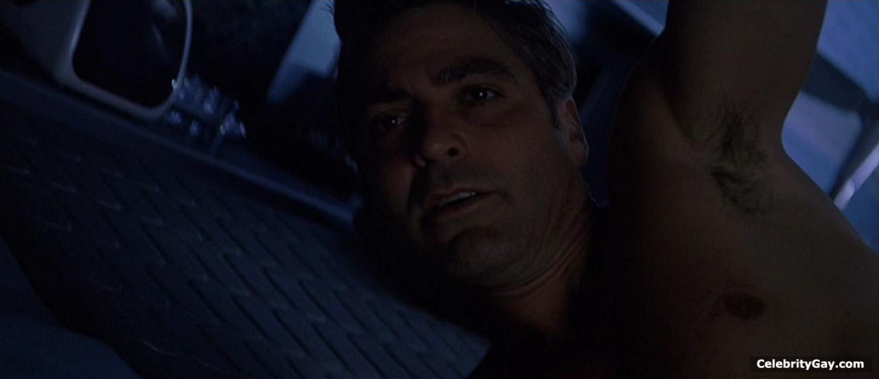 Topless George Clooney Naked Pictures Scenes