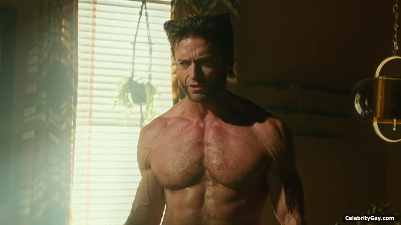 Daughter wife hugh jackman naked in the x men