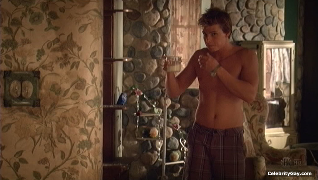 Nude hunter parrish cock masturbating