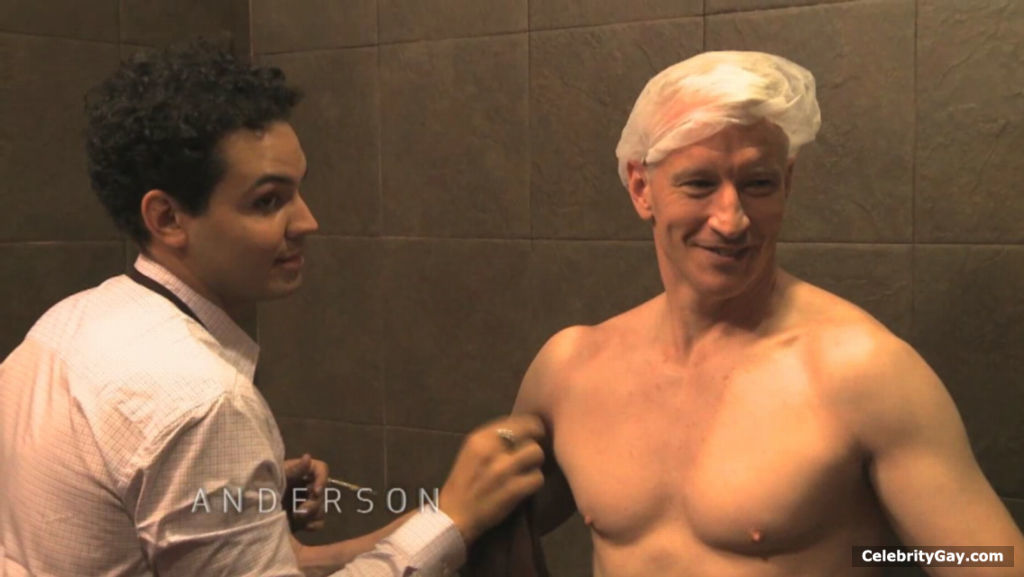 Anderson Cooper Nude - Leaked Pictures  Videos  Celebritygay-3781