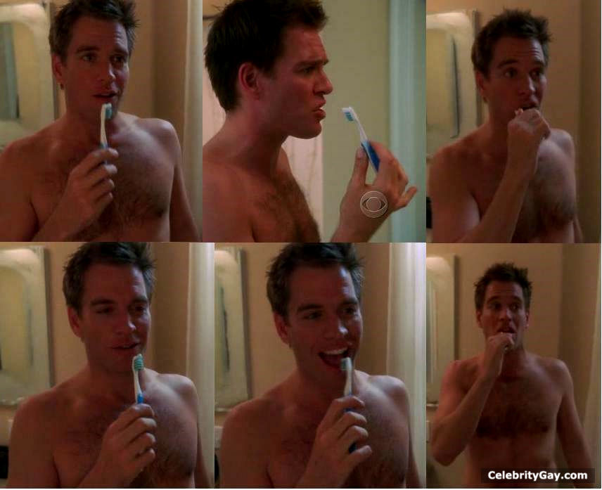 michael weatherly naked