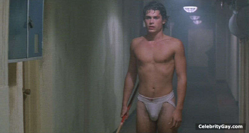rob lowe naked video