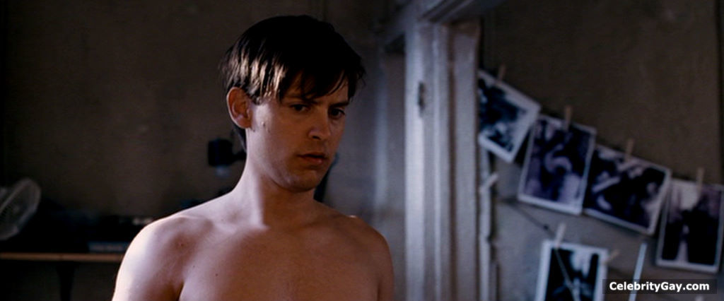 from Andre tobey maguire hot nudo