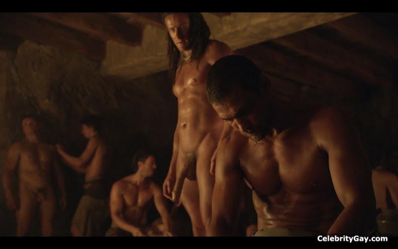 Spartacus nude male