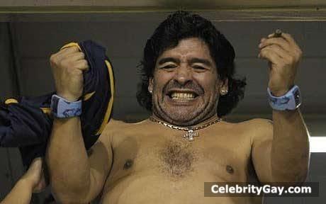 nude Diego maradona