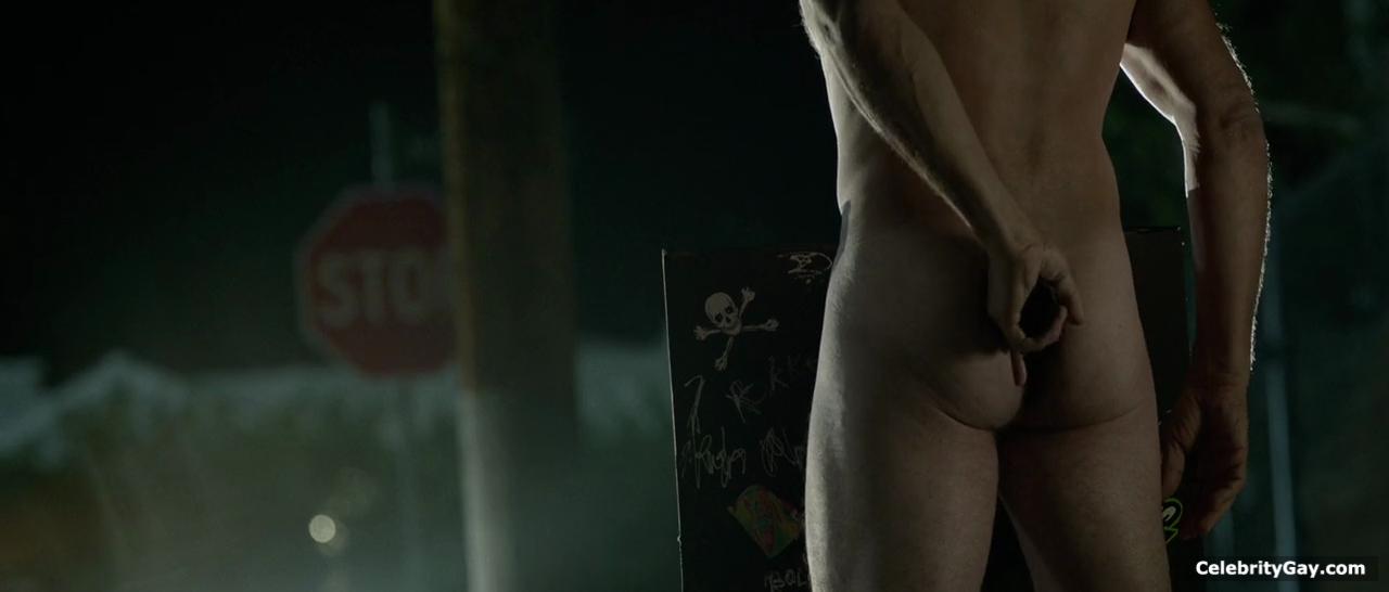 Naked bruce willis Demi Moore's