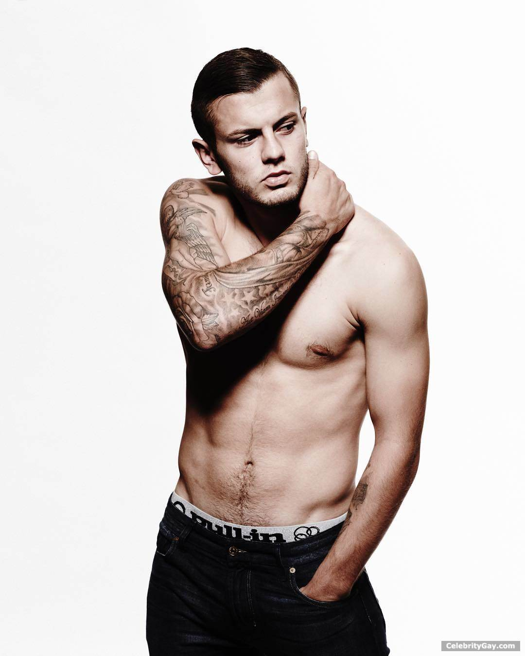 Jack Wilshere Nude - Leaked Pictures  Videos  Celebritygay-1607